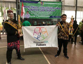 Delegasi RTIK Tuban Sabet Dua Penghargaan Kepemudaan Kab Tuban 2020