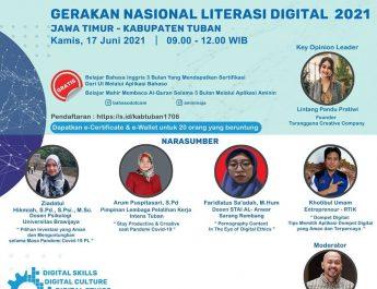 Webinar Gerakan Literasi Digital – Tuban 17/06